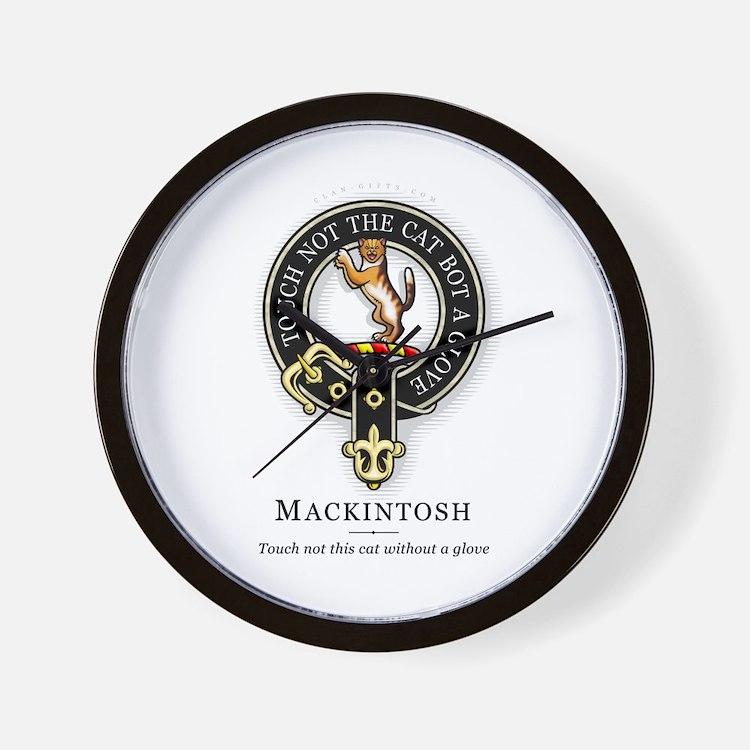 Scottish Clan Tattoo Clocks Scottish Clan Tattoo Wall