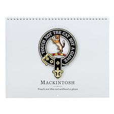Clan Mackintosh Wall Calendar