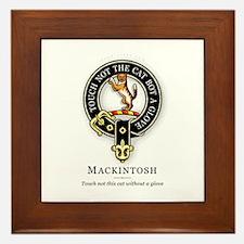 Clan Mackintosh Framed Tile