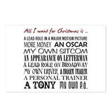 All I Want ... Postcards (Package of 8)