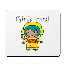 Girl Astronaut Mousepad