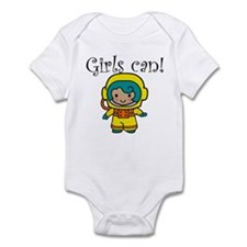 Girl Astronaut Infant Bodysuit