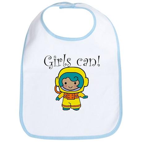 Girl Astronaut Bib