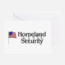 Homeland Security Now Greeting Cards (Pk of 10)