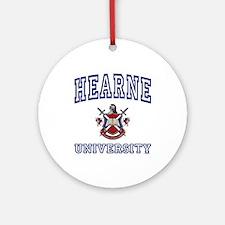 HEARNE University Ornament (Round)