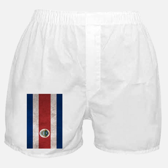 Cute Costa rica flag Boxer Shorts