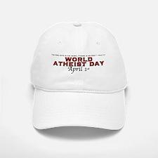 World Atheist Day 2.0 - Baseball Baseball Cap
