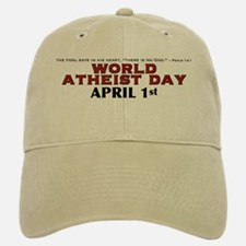 World Atheist Day 3.0 - Baseball Baseball Cap