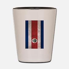 Unique Costa rica flag Shot Glass