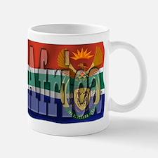 Silky Flag of South Africa Mug