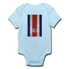 Costa Rica Flag Vintage / Distressed Body Suit