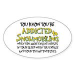 YKYATS - Sleep Oval Sticker
