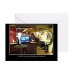 Coffee Bar at Dusk Greeting Cards (Pk of 10)