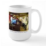 Coffee Bar at Dusk Large Mug