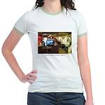 Coffee Bar at Dusk Jr. Ringer T-Shirt