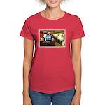 Coffee Bar at Dusk Women's Dark T-Shirt