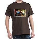 Coffee Bar at Dusk Dark T-Shirt