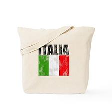 Faded Italia Tote Bag