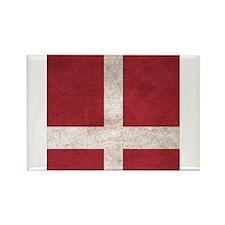 Denmark Flag Vintage / Distressed Magnets