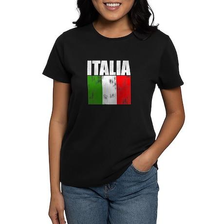 Faded Italia Women's Dark T-Shirt