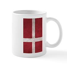 Denmark Flag Vintage / Distressed Mugs