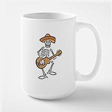 mariachi skeleton Mugs