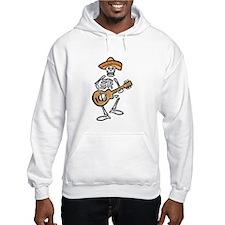 mariachi skeleton Hoodie