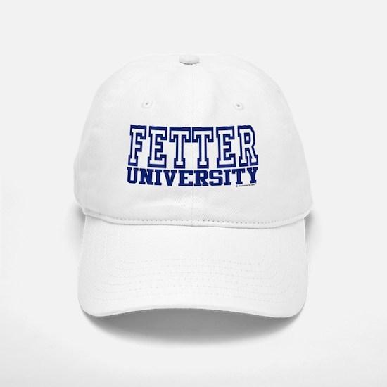 FETTER University Baseball Baseball Cap