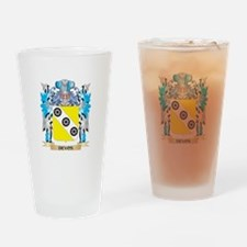 Funny Devo Drinking Glass