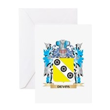 Devos Coat of Arms - Family Crest Greeting Cards