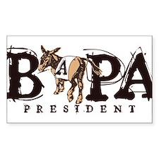 BAPA logo Decal