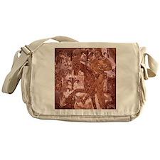 Wall painting. King Philip II and cr Messenger Bag