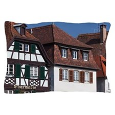 Alsace Region Pillow Case