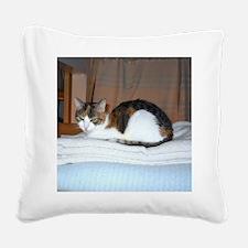 Unique Calico Square Canvas Pillow