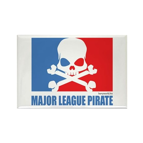 ML Pirate (2) Rectangle Magnet (100 pack)