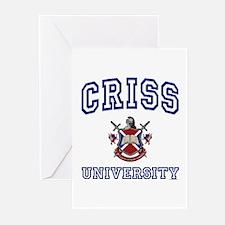 CRISS University Greeting Cards (Pk of 10)