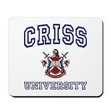CRISS University Mousepad