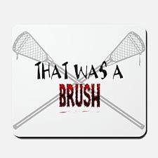 Lacrosse Brush II Mousepad