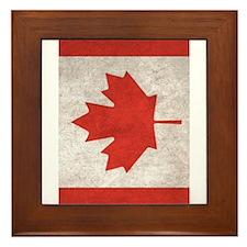 Cute Canada Framed Tile