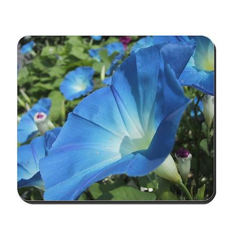 Blue Glory Mousepad