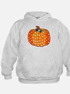 Polka Dot Pumpkin Hoodie