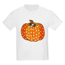 Polka Dot Pumpkin T-Shirt