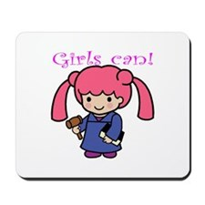 Girl Judge Mousepad