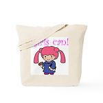Girl Judge Tote Bag