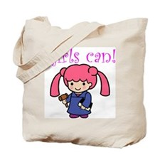 Girl Judge Tote Bag