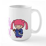 Girl Judge Large Mug