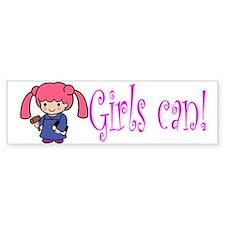 Girl Judge Bumper Bumper Sticker