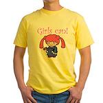 Girl Judge Yellow T-Shirt