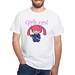 Girl Judge White T-Shirt