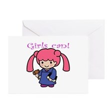 Girl Judge Greeting Cards (Pk of 10)